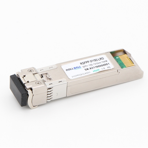 10GBASE-LR SFP+ 1310nm 10km DOM LC SMF Module 10Gbs Transceiver