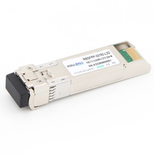 Generic Compatible 10GBASE-BX SFP+ 1330nm-TX/1270nm-RX 20km DOM Module
