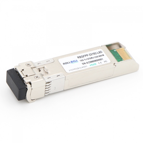 Generic Compatible 10GBASE-BX SFP+ 1270nm-TX/1330nm-RX 60km DOM Module