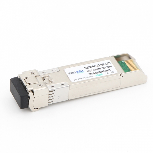 Generic Compatible 10GBASE-BX SFP+ 1270nm-TX/1330nm-RX 20km DOM Module