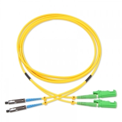 MU-E2000/APC Duplex OS2 9/125 SMF Fiber Patch Cable