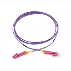 LC/UPC-LC/UPC Duplex 10G OM4 50/125 Multi-mode Fiber Patch Cable