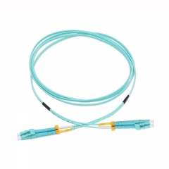 LC/UPC-LC/UPC Duplex OM3 50/125 Multi-mode Fiber Patch Cable