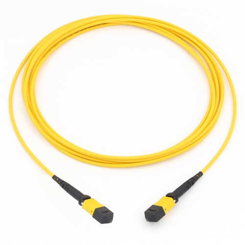 8 Fiber MTP(Female)-MTP(Female) 9/125 Single-mode Fiber Optic Cable