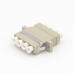 LC/UPC to LC/UPC 4 Cores Multi-mode Plastic Fiber Optic Adapter