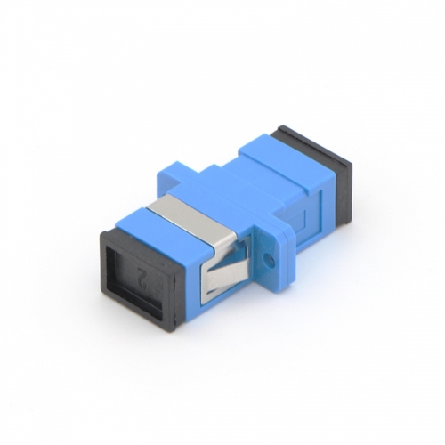 SC/UPC to SC/UPC Simplex Single-mode Plastic Fiber Optic Adapter