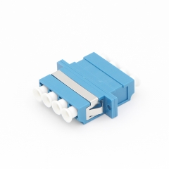 LC/UPC to LC/UPC 4 Cores Single-mode Plastic Fiber Optic Adapter
