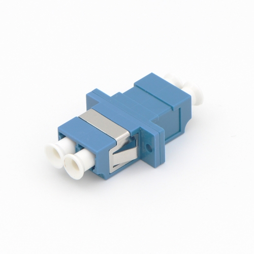 LC/UPC to LC/UPC Duplex Single-mode Plastic Fiber Optic Adapter
