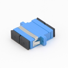 SC/UPC to SC/UPC Duplex Single-mode Plastic Fiber Optic Adapter