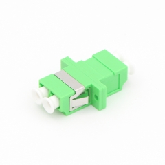 LC/APC to LC/APC Duplex Single-mode Plastic Fiber Optic Adapter