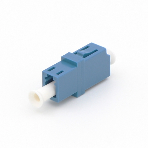 LC/UPC to LC/UPC Simplex Single-mode Plastic Fiber Optic Adapter