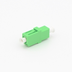 LC/APC to LC/APC Simplex Single-mode Plastic Fiber Optic Adapter