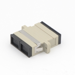 SC/UPC to SC/UPC Duplex Multi-mode Plastic Fiber Optic Adapter