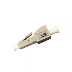 LC/UPC Male-Female Multi-mode Fixed Fiber Optic Attenuator
