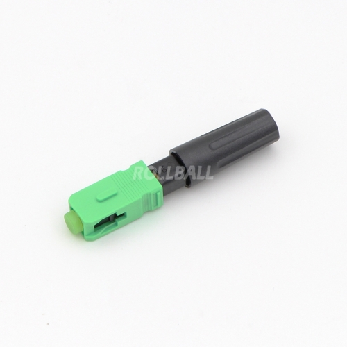 Field Assembly FTTH SC/APC single-mode Fiber Optic Fast Connector