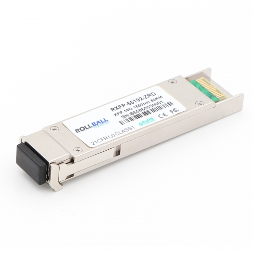 Alcatel-Lucent 3HE01545AA Compatible 10GBASE-ZR XFP 1550nm 80km DOM Transceiver