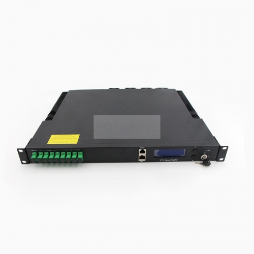 8-Port 1550nm CATV EDFA HA5X00 Series fiber Optical Amplifier